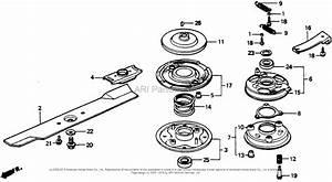 Honda Hr216 Sxa  Lawn Mower  Usa  Vin  Macr