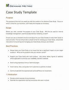 Case study template doliquid for Case studies format template