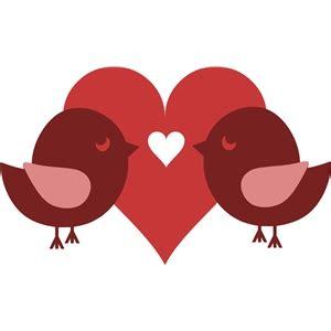 Love Bird Silhouette Clip Art Heart