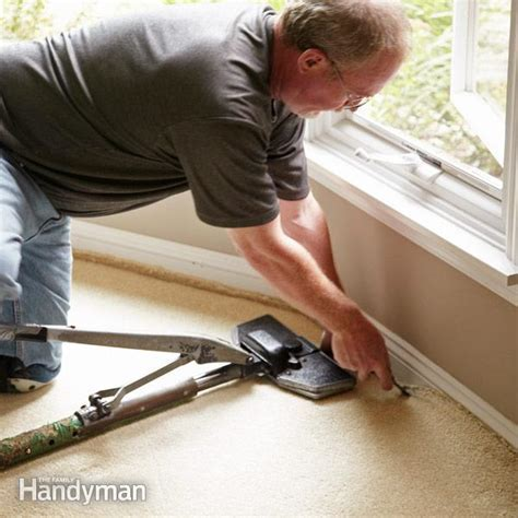 How to Repair Carpet: Removing Wrinkles   The Family Handyman