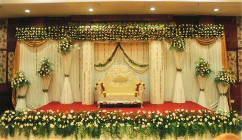 wedding stage decoration in kerala decorations wedding