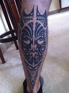 Tribal Calf/Leg tattoo