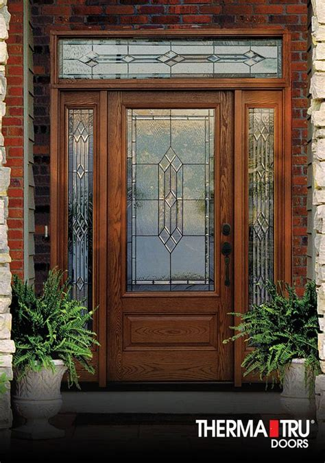 Thermatru Classiccraft Oak Collection Fiberglass Door