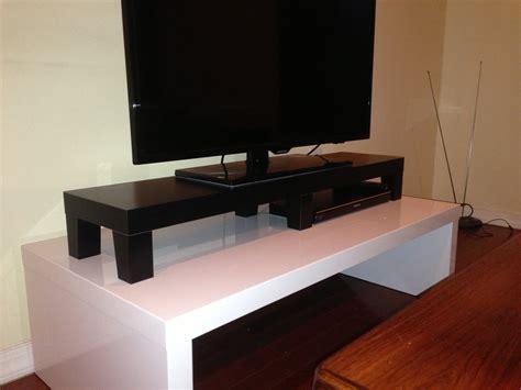 Bedroom Corner Desk Unit by Lack Tv Riser Ikea Hackers Ikea Hackers