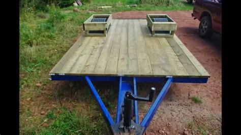 cargo trailer conversion floor starcraft pop up tent trailer to cargo trailer