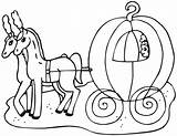 Coloring Carriage Cinderella Clipart Template Coach Princess Clip Dibujos Transporte Carrosse Transport Sketch Library Thanksgiving sketch template
