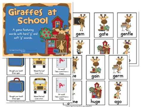 10+ Images About Hard G Soft G Sounds On Pinterest  English Worksheets For Kids, Decoding And