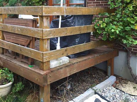 überdachte terrasse holz projekt neue terrasse aus holz das haus und garten team