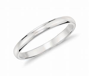 classic wedding ring in platinum 2mm blue nile With 2mm wedding ring