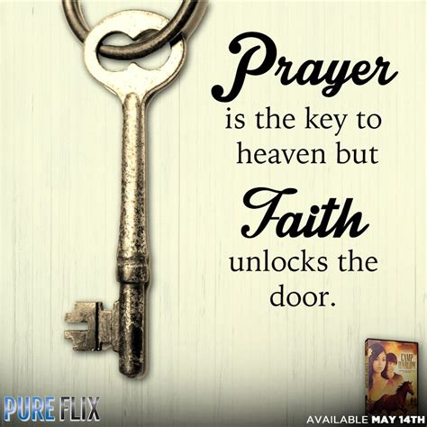 encouragement prayer   key  heaven  faith