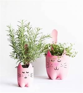 Pot Fleur Plastique : crer un bonhomme avec des pots de fleurs affordable ~ Premium-room.com Idées de Décoration