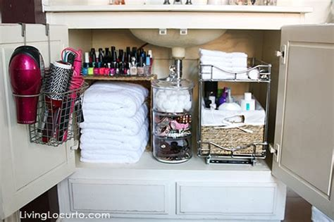 bathroom organization ideas     living locurto