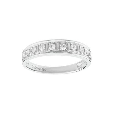 buy 9ct gold 0 20ct tw pave wedding ring at argos