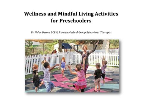 wellness and mindful living activities for preschoolers 354 | wellness and mindful living activities for preschoolers parrish medical center 1 638