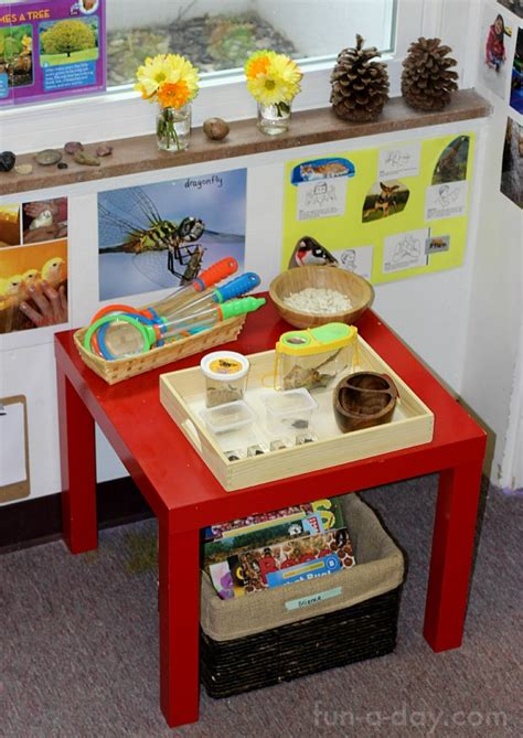 insects and plants in the preschool science center 330 | preschool science center 2
