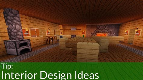 easy interior decorations   minecraft house youtube