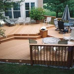 Awesome deck and patio ideas for small backyards images for Deck and patio ideas for small backyards