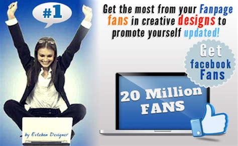 facebook fan page promotion create a professional timeline facebook fan page tab by