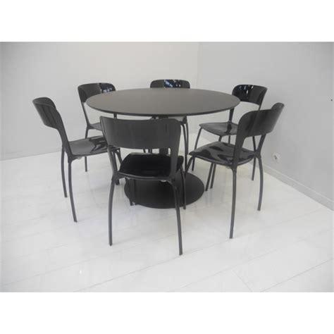 tables rondes de cuisine set table 6 chaises quot riva quot achat vente table de