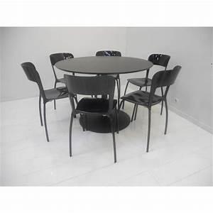 Table Ronde Cuisine : chaise ronde cuisine ~ Teatrodelosmanantiales.com Idées de Décoration