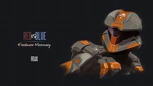 Red Vs Blue Wallpaper HD