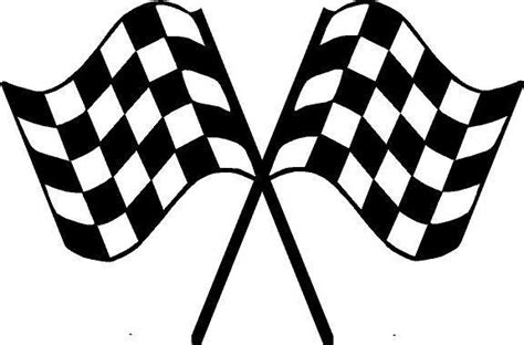buy motocross bike checkered flags trailer decal crossed flag race car decals