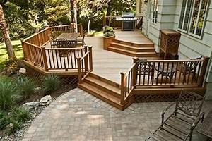 4 tips to start building a backyard deck futurist for Backyard deck designs plans