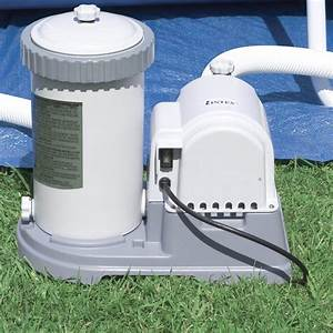 Intex 2500 Gph Above Ground Swimming Pool Pump  U0026 Filter