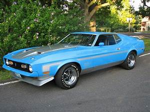 1971 FORD MUSTANG MACH 1 FASTBACK - 61017