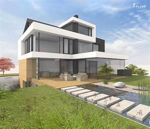 Moderne Häuser Mit Pool : die besten 17 bilder zu moderne h user satteldach auf pinterest modernes bauernhaus ~ Markanthonyermac.com Haus und Dekorationen