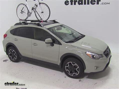 subaru crosstrek bike rack subaru bike carrier roof mounted bicycling and the best