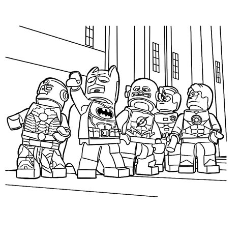 Kleurplaten Lego by Kleurplaten Lego Emmet