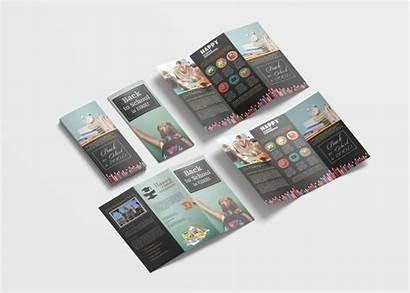 Brochure Fold Tri Template Elementary