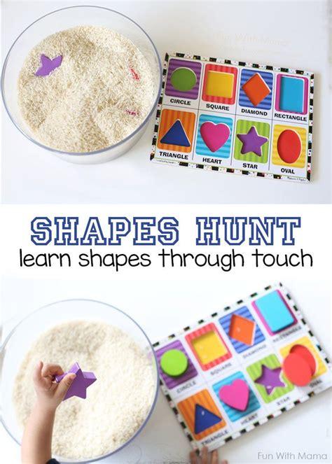 best 25 preschool shape activities ideas on 996 | 3de5cb36e15fd195739a8381bf7c21d6 shapes activities toddlers sensory preschool activities