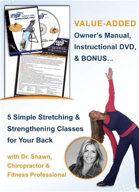 teeter inversion table instructional video teeter inversion tables review