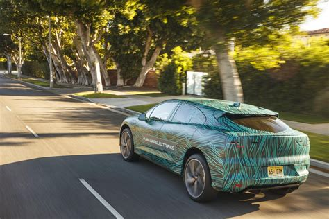 Jaguar Ipace Nears Production, Completes West Coast Road Trip