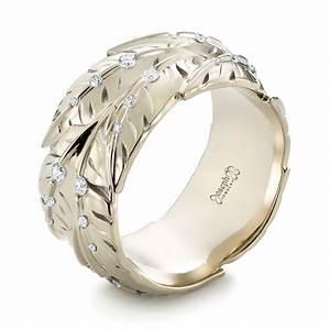 custom mokume wedding band 103470 With custom wedding rings men