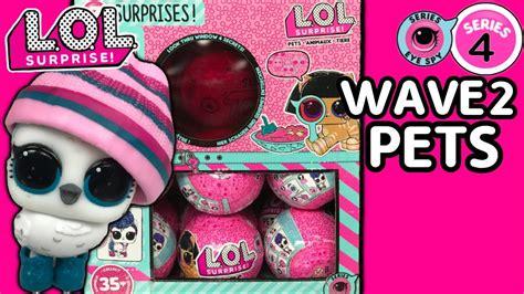 lol surprise series  wave  pets lol doll  lol