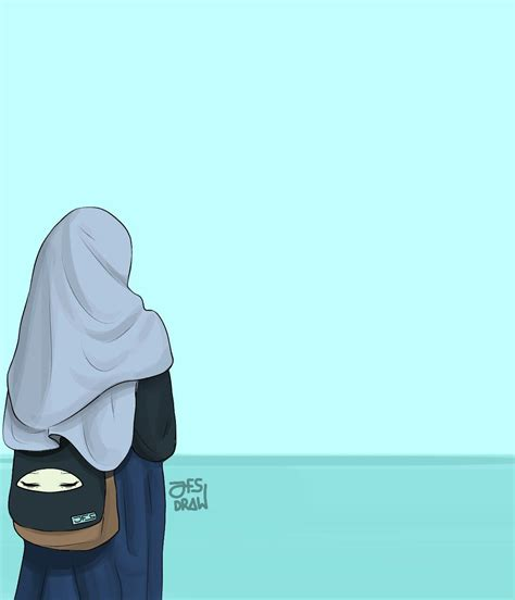 original art  jfsdraw seni islamis kartun