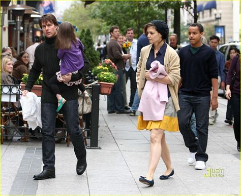 tom cruise katie holmes charleys saloon family fun photo  celebrity babies connor