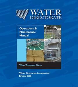 O U0026m Manual For Water Treatment Plants