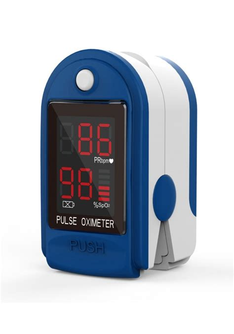 CMS 50 DL Fingertip Pulse Oximeter: BOS & PRM Measurement