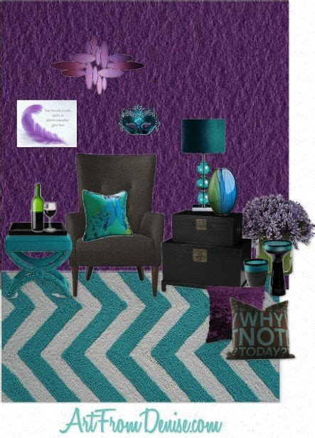 Purple Grey And Turquoise Living Room by Best 20 Gray Turquoise Bedrooms Ideas On