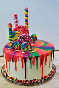 Rainbow Cake Ideas For Birthdays birthday cake Ideas
