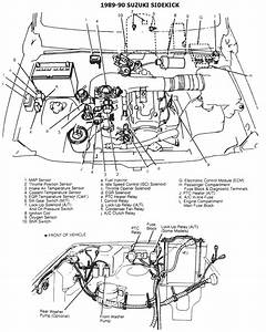 1989 Suzuki Sidekick Wiring Diagram