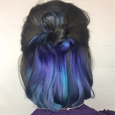 Pin By Nicole Saltou On Hair Hair Color Blue Hair
