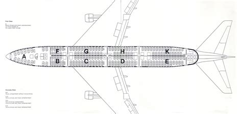 boeing 747 400 plan si鑒es boeing 747 400 seating plan images