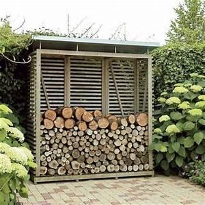 Abris Bois De Chauffage Leroy Merlin : entrenir son jardin en hiver et stocker son bois c t maison ~ Farleysfitness.com Idées de Décoration