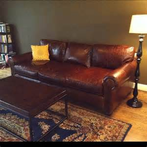 lancaster sofa from restoration hardware decorating