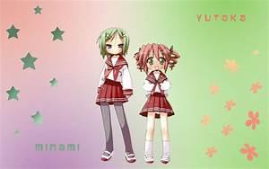Lucky Star - Yutaka + Minami by X16Phoenix on DeviantArt